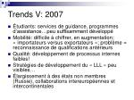 trends v 20077