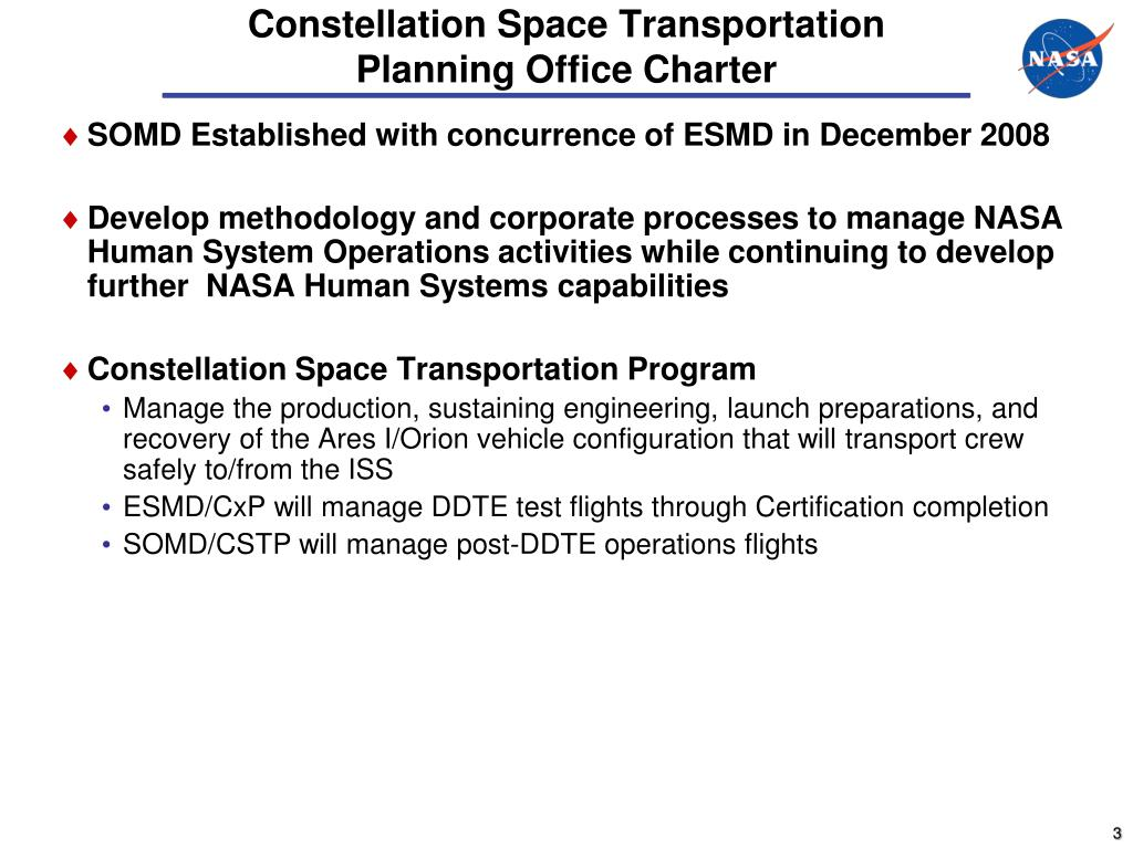 Constellation Space Transportation