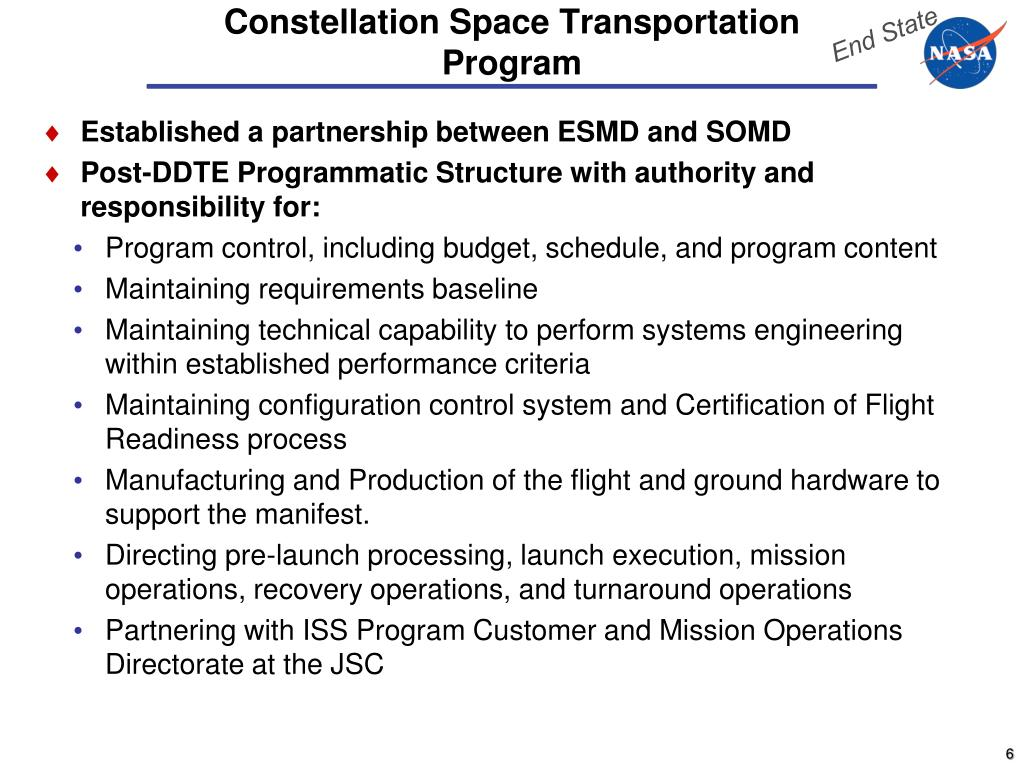 Established a partnership between ESMD and SOMD