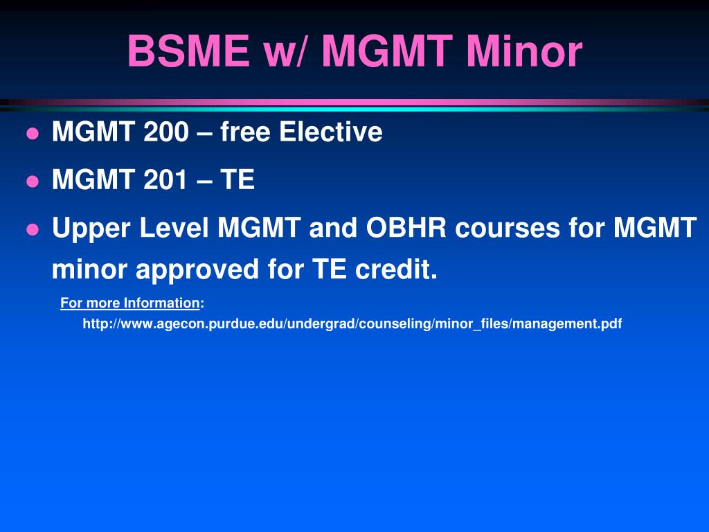 MGMT 200 – free Elective
