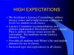 high expectations19