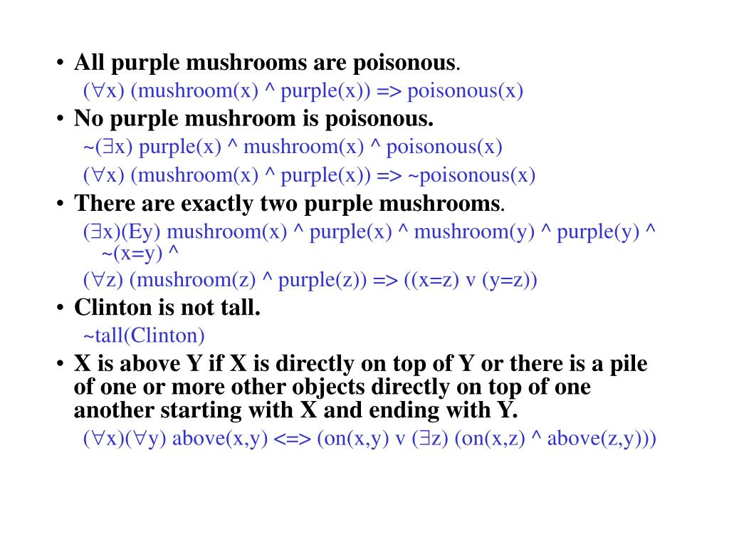 All purple mushrooms are poisonous
