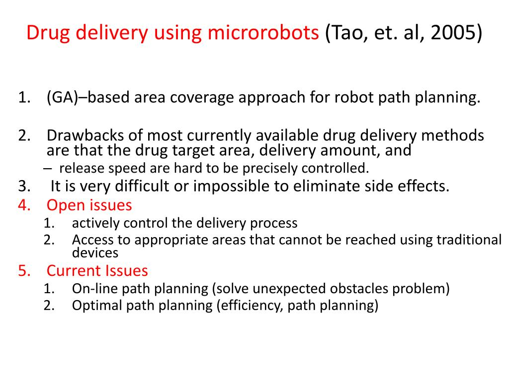 Drug delivery using microrobots
