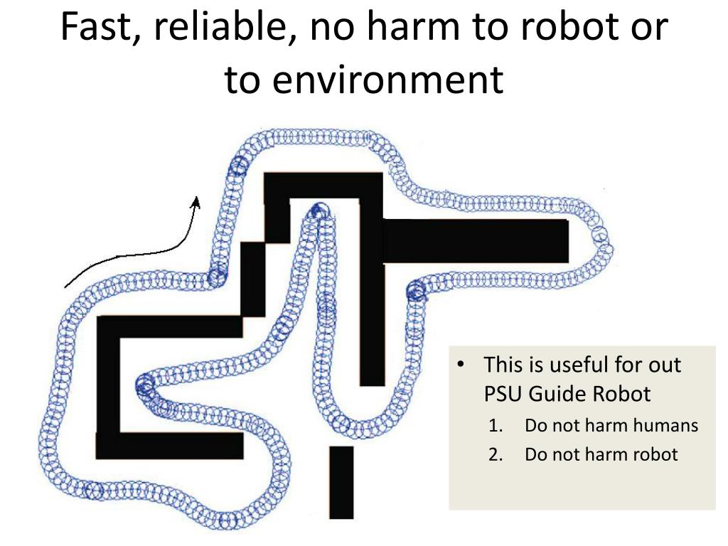 Fast, reliable, no harm to robot or to environment