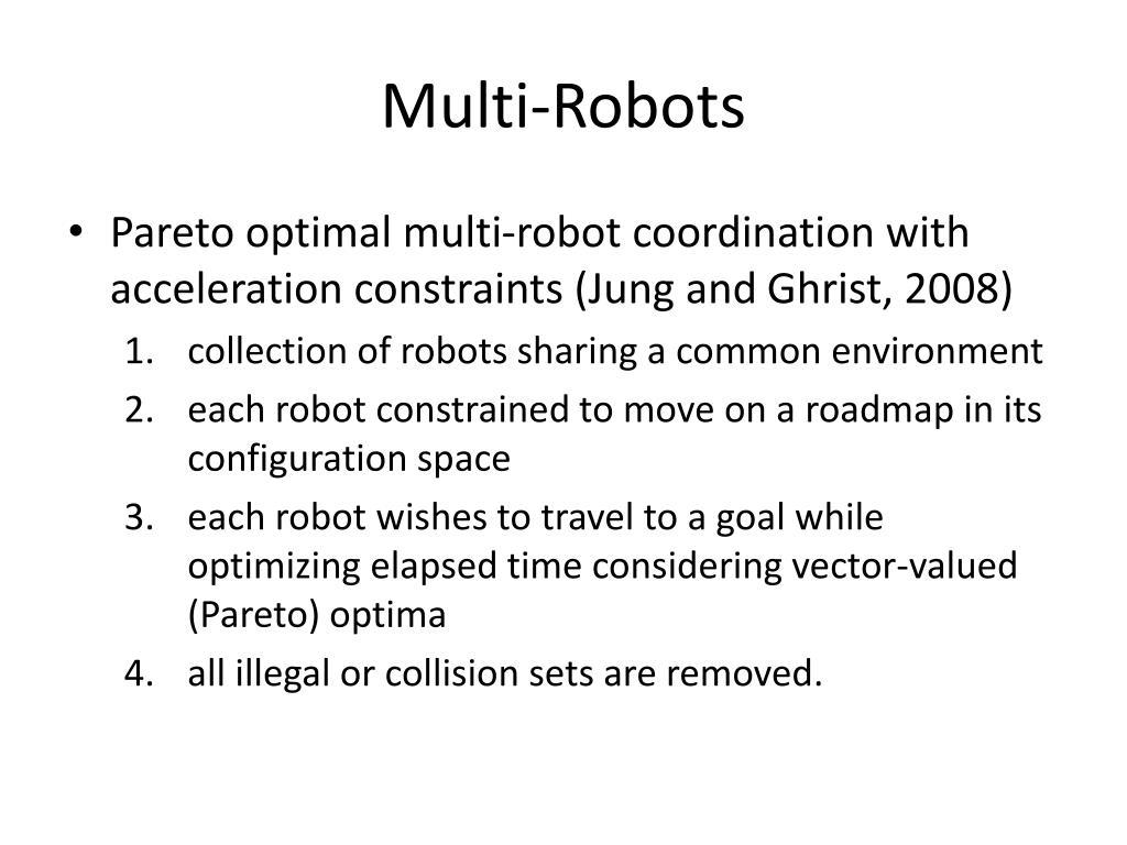 Multi-Robots