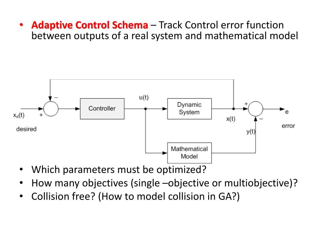 Adaptive Control Schema