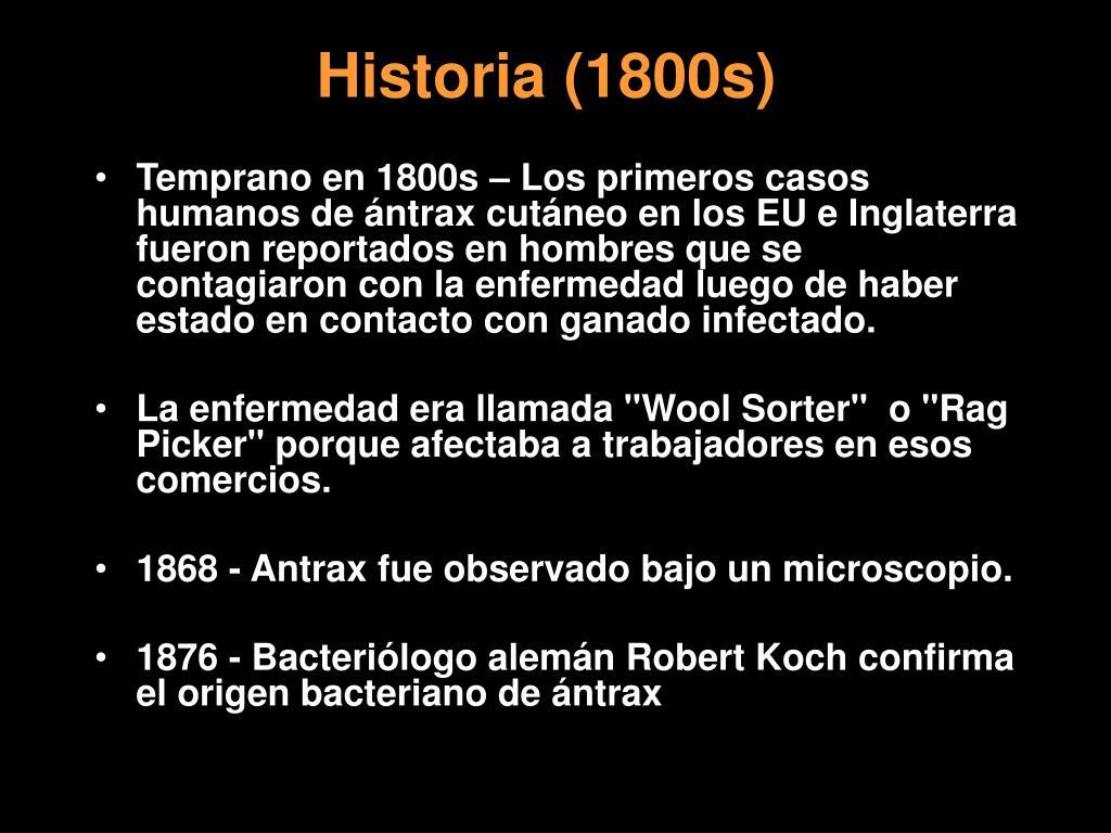 Historia (1800s)