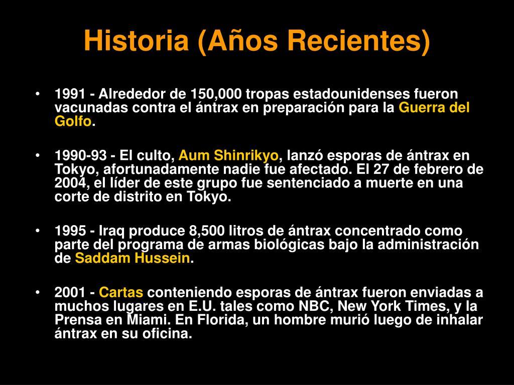 Historia (A