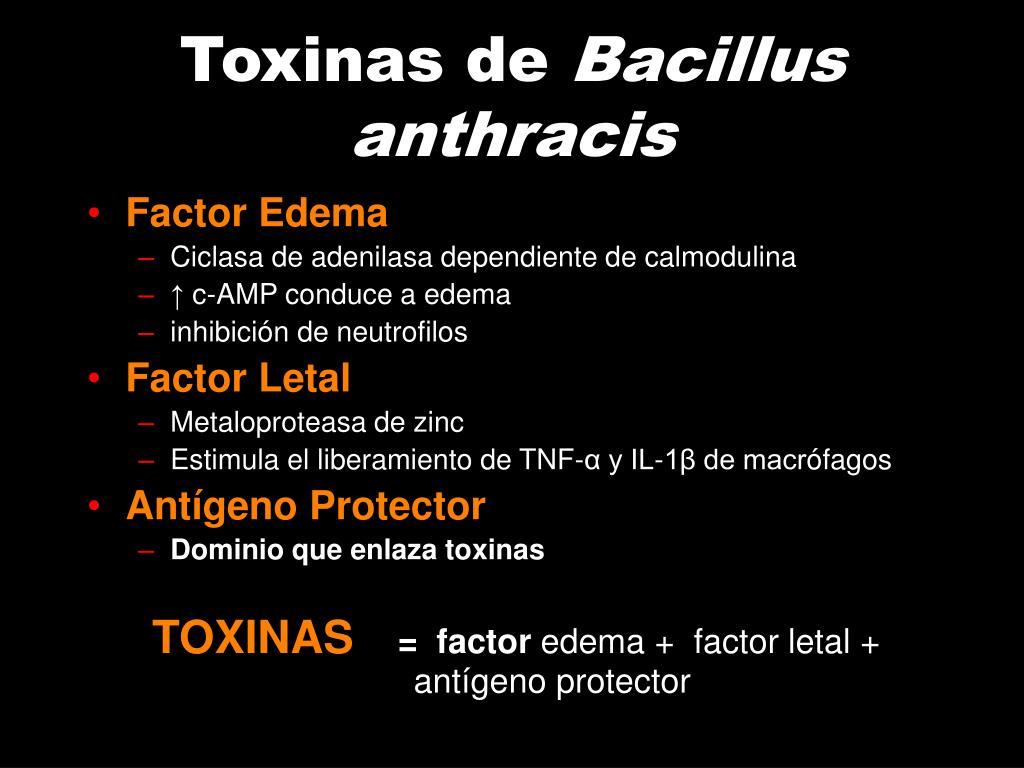 Toxinas de