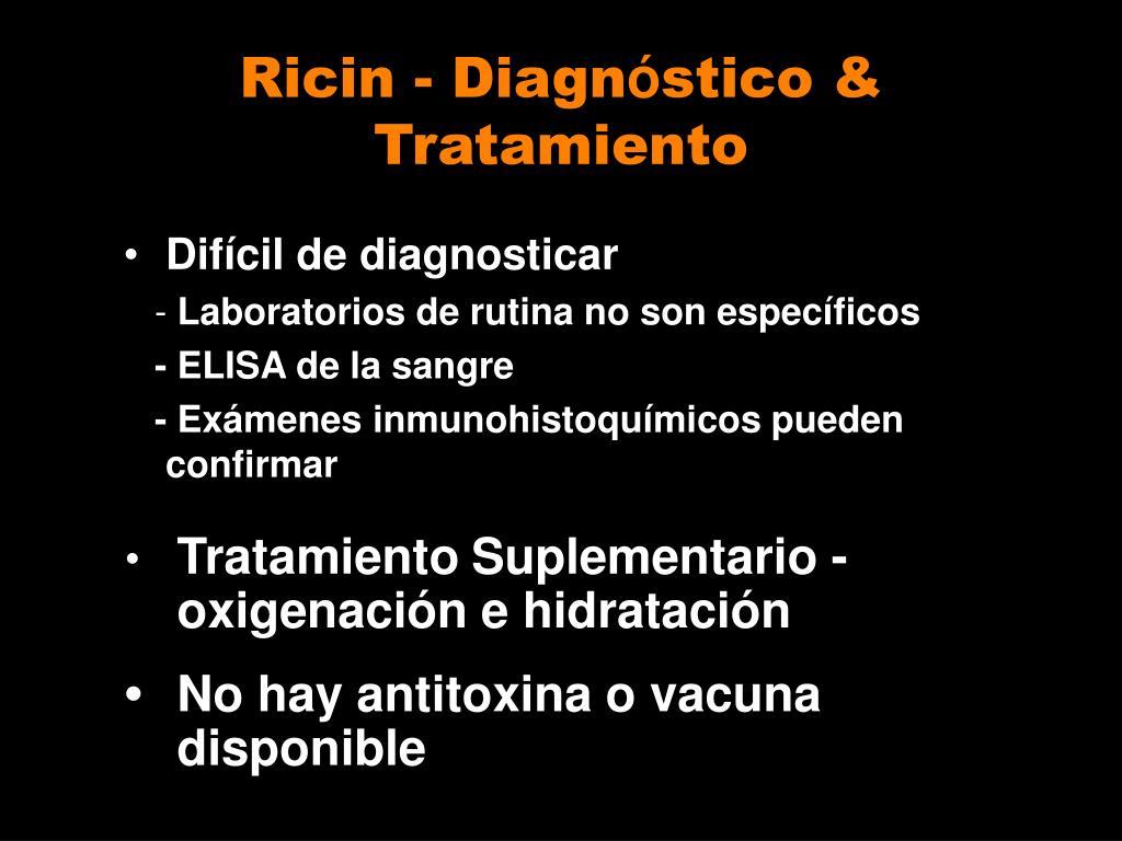 Ricin - Diagn
