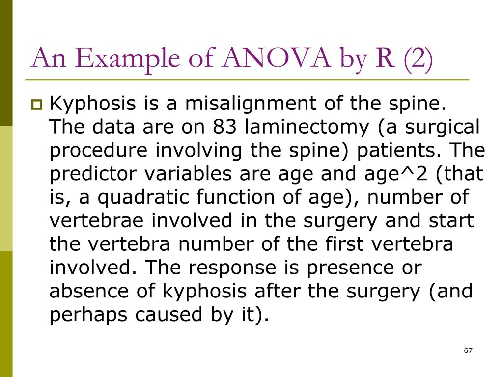 An Example of ANOVA by R (2)