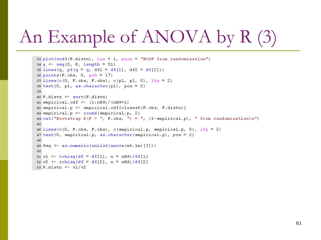 An Example of ANOVA by R (3)