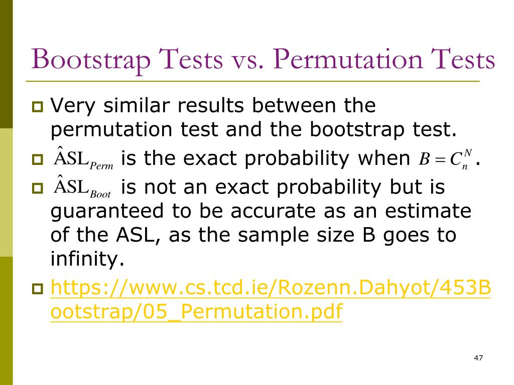 Bootstrap Tests vs. Permutation Tests