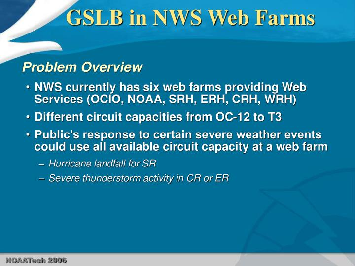 Gslb in nws web farms3