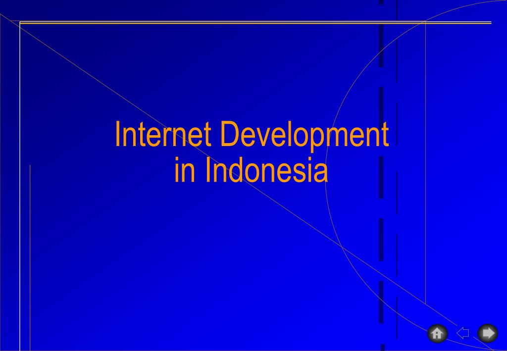 internet development in indonesia l.
