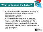 what is beyond the label