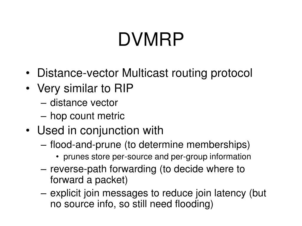 DVMRP