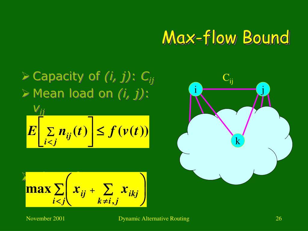 Max-flow Bound