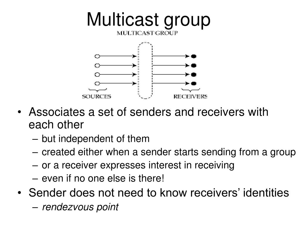 Multicast group