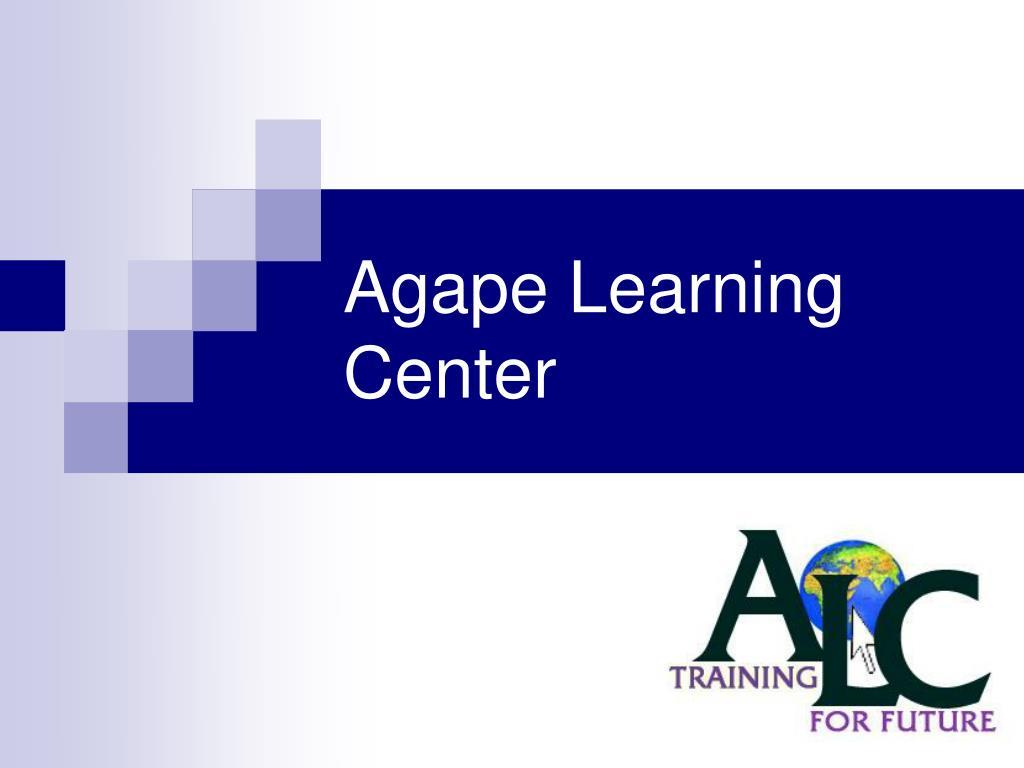agape learning center l.
