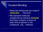 covalent bonding18