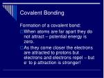 covalent bonding20