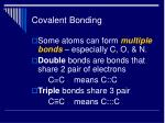 covalent bonding31