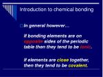 introduction to chemical bonding14