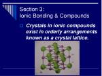 section 3 ionic bonding compounds38