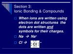 section 3 ionic bonding compounds41