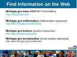find information on the web48