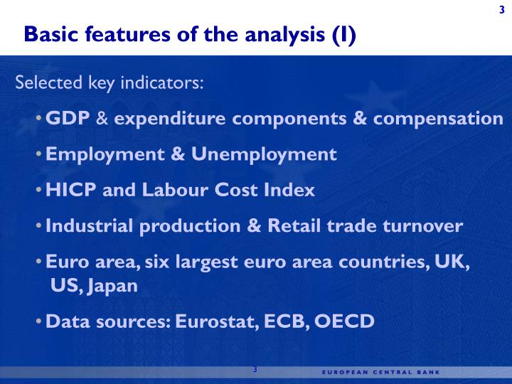 Revision analysis for general economic statistics