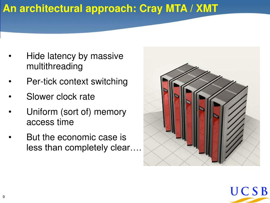 An architectural approach: Cray MTA / XMT