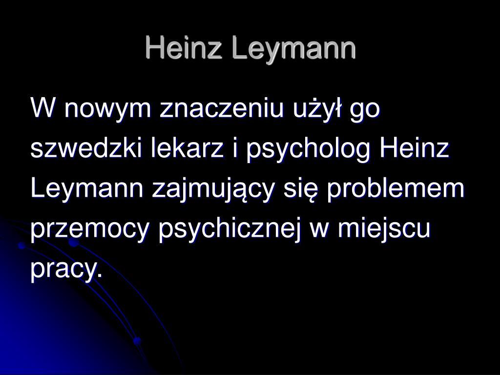 Heinz Leymann