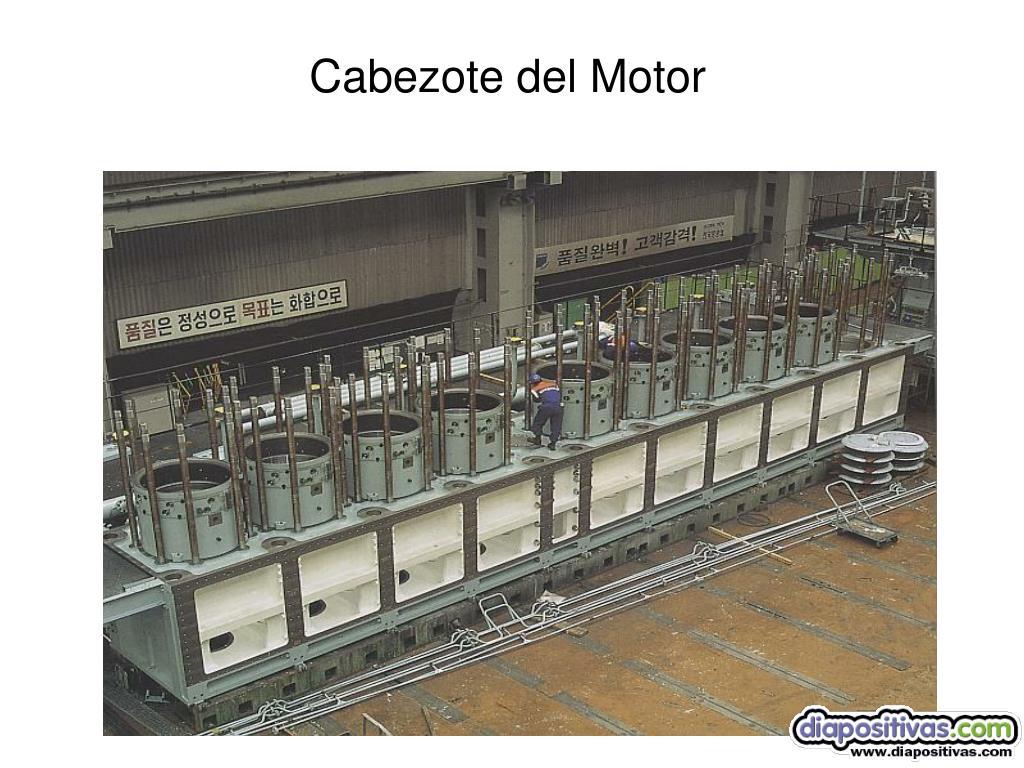 Cabezote del Motor