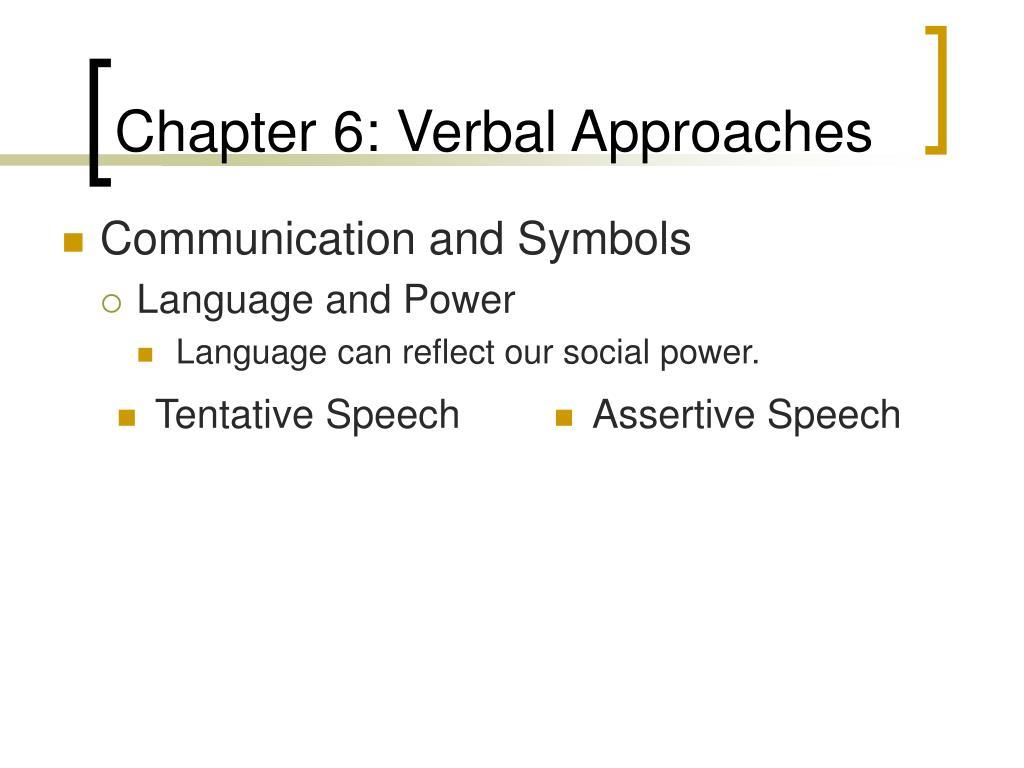 Tentative Speech