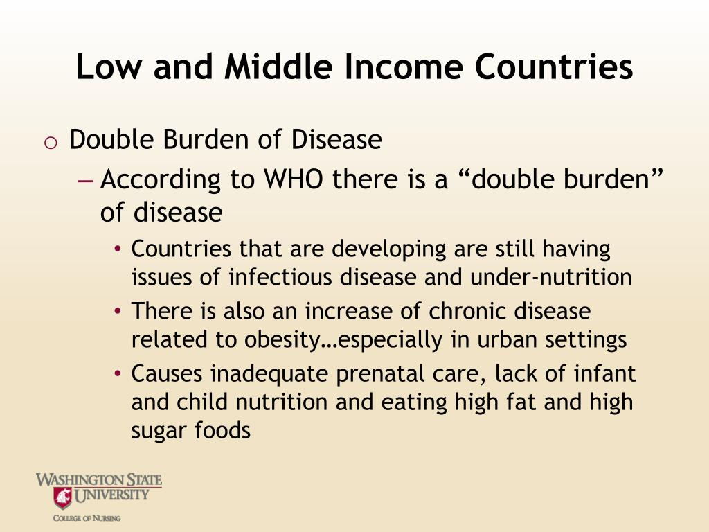 Low and Middle Income Countries