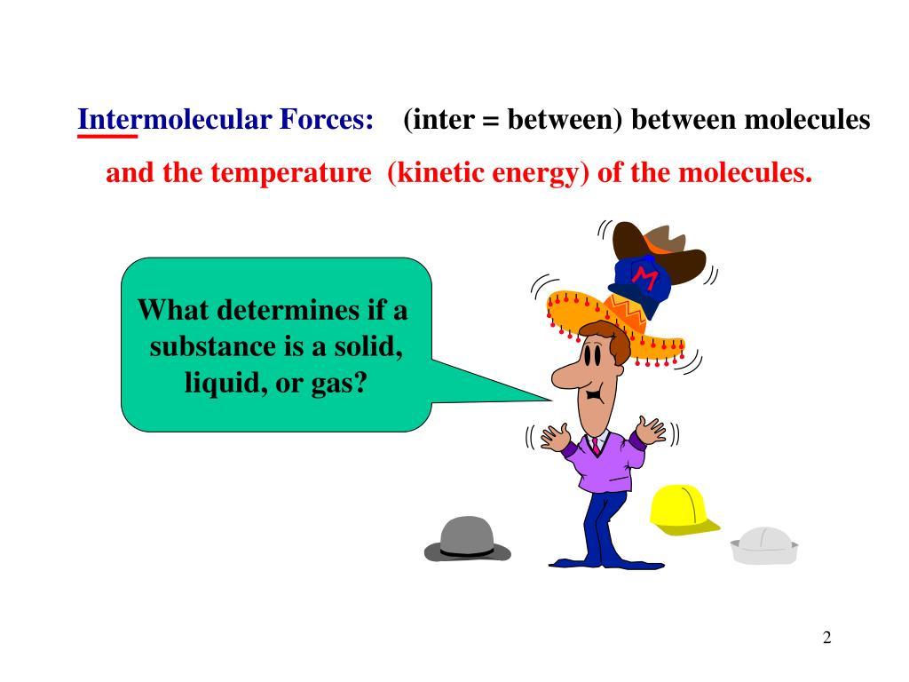 Intermolecular Forces: