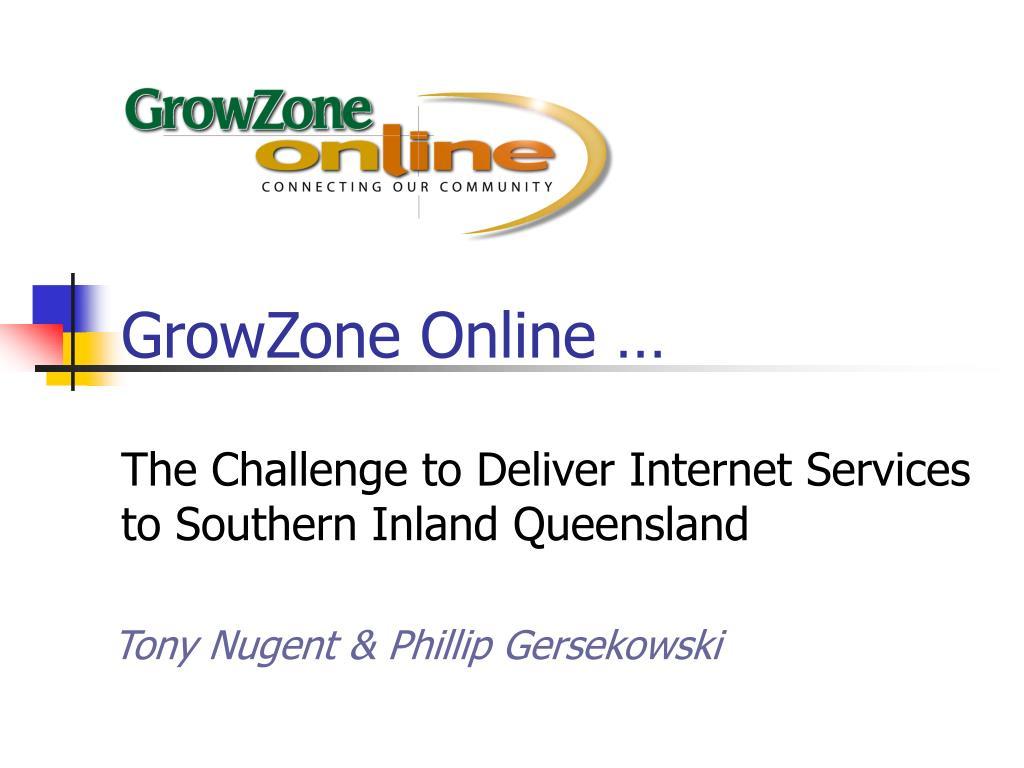 growzone online l.