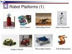 robot platforms 1