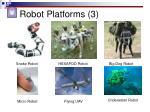 robot platforms 3