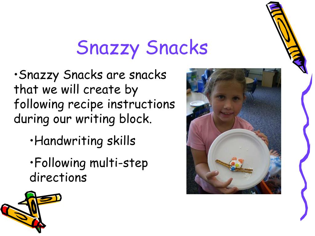 Snazzy Snacks