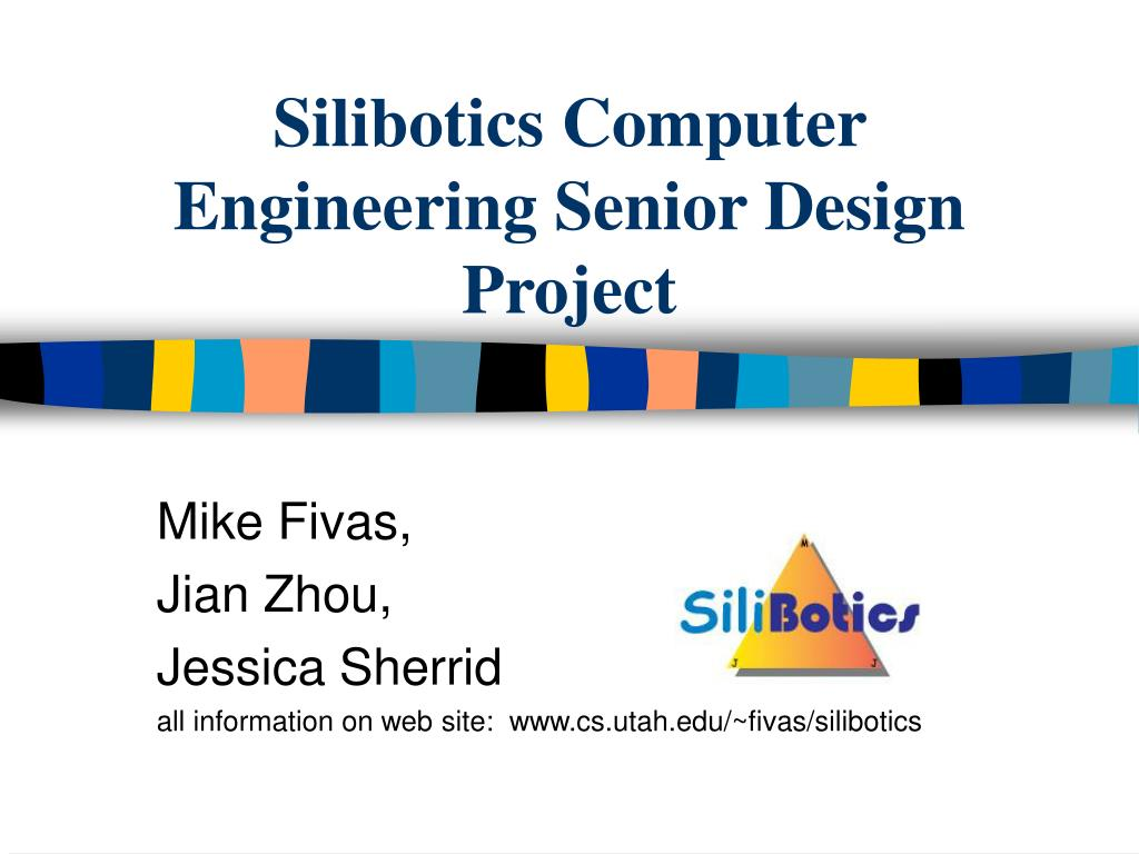 silibotics computer engineering senior design project l.