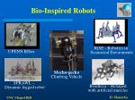 bio inspired robots