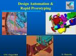 design automation rapid prorotyping