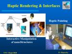 haptic rendering interfaces