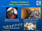 medical training robot assisted surgery