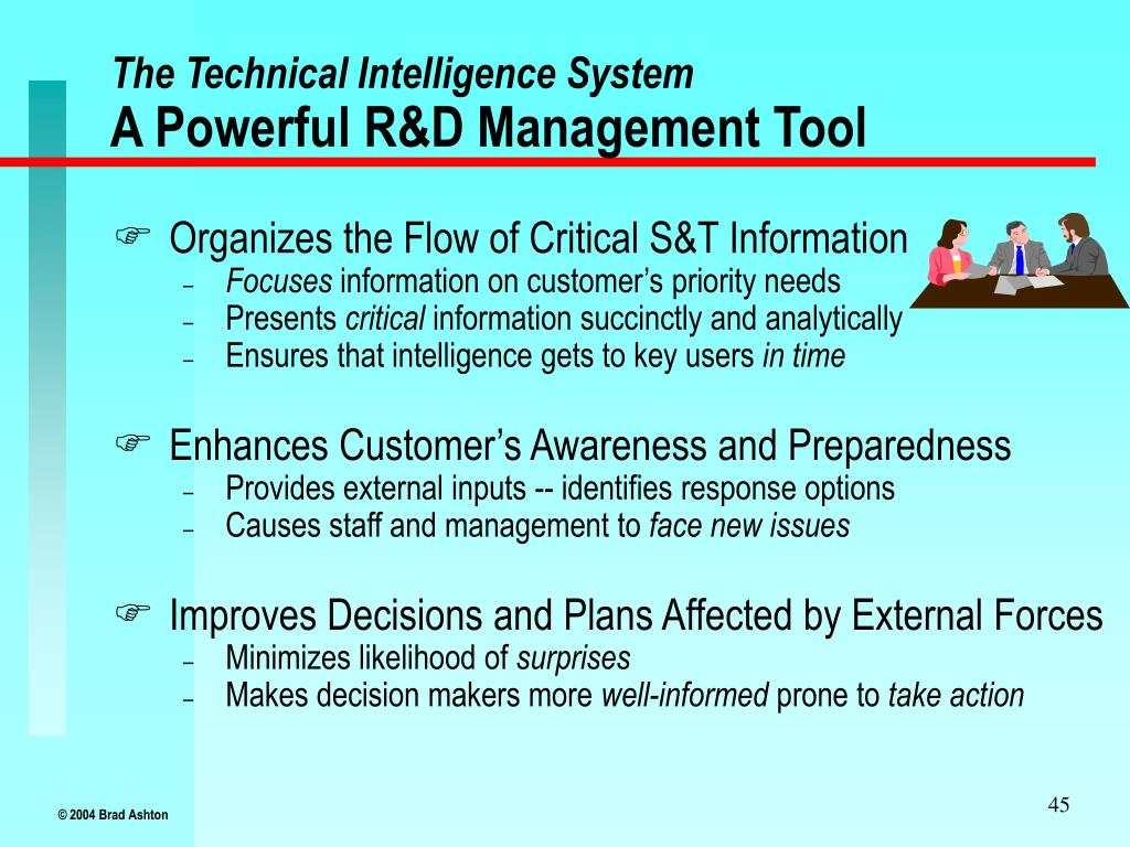 The Technical Intelligence System