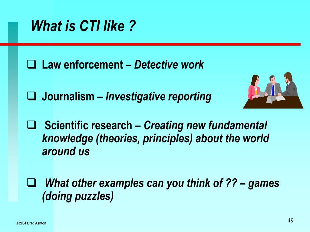 What is CTI like ?