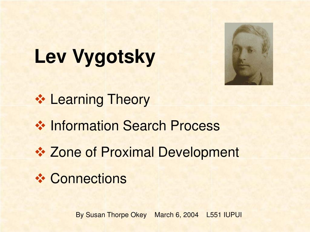 lev vygotsky theories analysis The educational theory of lev vygotsky: an analysis researched and written by: m dahms, k geonnotti, d passalacqua j n schilk, a wetzel, and m zulkowsky introduction born in czarist russia in 1896, lev vygotsky lived a relatively short life, dying of tuberculosis in 1934.